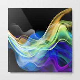 Color smoke. Metal Print