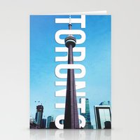 toronto Stationery Cards featuring Toronto by houseofdawn