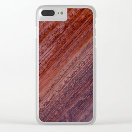 Natural Sandstone Art, Valley of Fire - III Clear iPhone Case