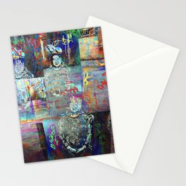 tethered as tight as that determination to resist. Stationery Cards