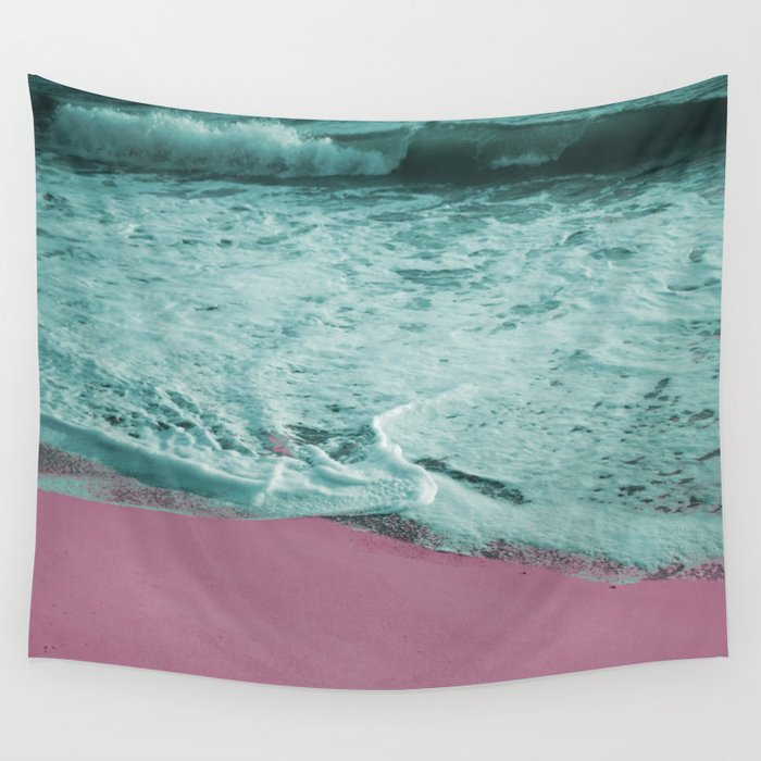 Pop Art High Tide Wall Tapestry