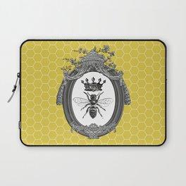 Queen Bee | Vintage Bee with Crown | Honeycomb | Laptop Sleeve