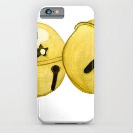 Gold Jingle bells iPhone Case