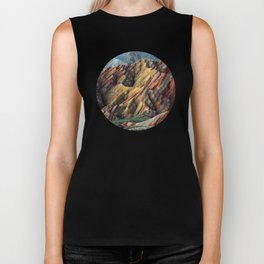 Rainbow Mountains Biker Tank