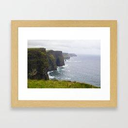 Cliffs of Moher Framed Art Print
