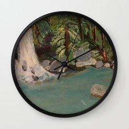 Tropic Vibes Wall Clock