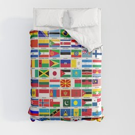 Flags Of The World Comforters
