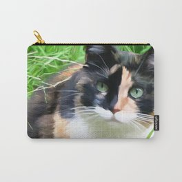 Jasmine In The Grass Carry-All Pouch