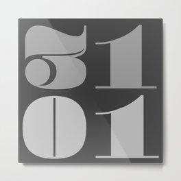 31st January Metal Print
