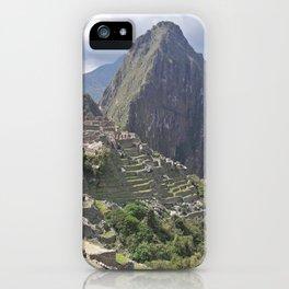 Machu Pichu Cuzco Peru iPhone Case