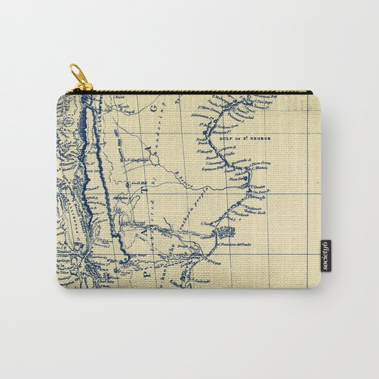 Patagonia - Blue Vintage Carry-All Pouch