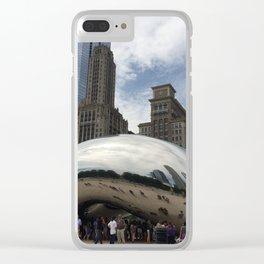 Cloud Gate Clear iPhone Case