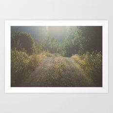 Backroad Wandering Art Print