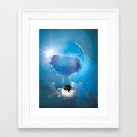 balloon Framed Art Prints featuring Balloon by Julien Kaltnecker