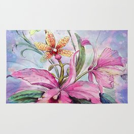 Orchids 06 Rug
