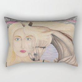 L'amour mêlé Rectangular Pillow