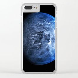 Blue Planet : Waterworld Clear iPhone Case
