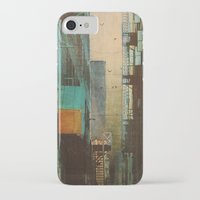 clockwork orange iPhone & iPod Cases featuring ESCAPE ROUTE by Liz Brizzi