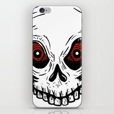Evil Skull iPhone Skin