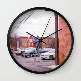 Harrisburg Sidestreet Wall Clock