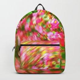 Flowers in Circular Motion Backpack