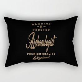 Archaeologist - Funny Job and Hobby Rectangular Pillow