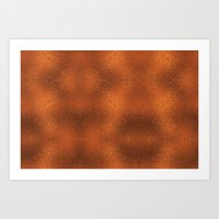 gold foil Art Prints featuring Gold Foil Texture 4 by Robin Curtiss