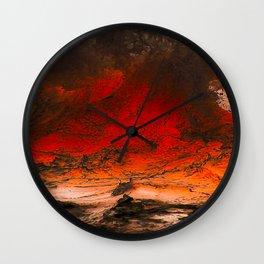 EXPLOSION - 24218/2 Wall Clock