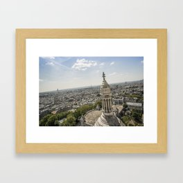la vue Framed Art Print