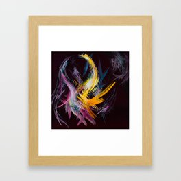 Fractured Realities and Dreams Brought to Light Framed Art Print