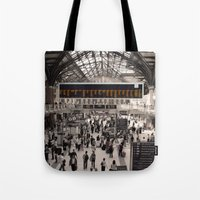 liverpool Tote Bags featuring Liverpool St. by theGalary
