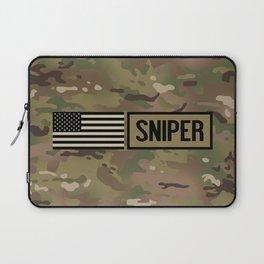 Military: Sniper (Camo) Laptop Sleeve