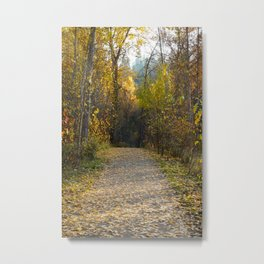 Leaf of the Fall Metal Print