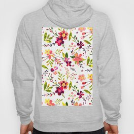 Colorful floral pattern  #society6 Hoody