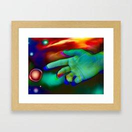 The Next Dimension Framed Art Print