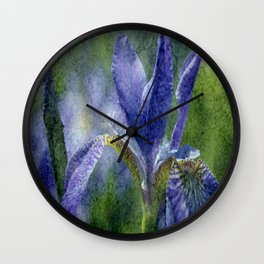 Flowers view Wall Clock