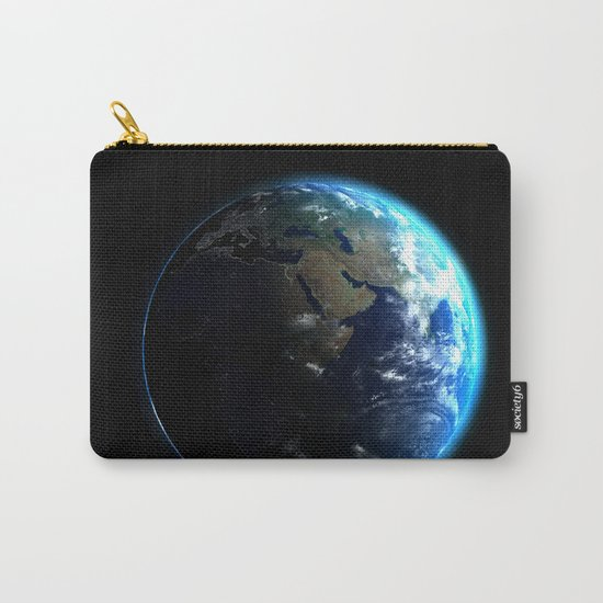 Dark Side of the Earth Carry-All Pouch