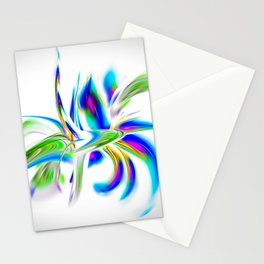 Abstract perfection - Flower Magical Stationery Cards