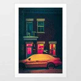 MTL Streetscape Art Print