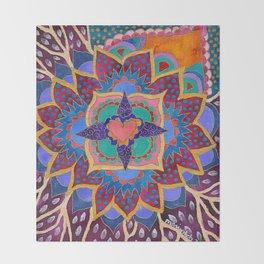Feral Heart #02 Throw Blanket