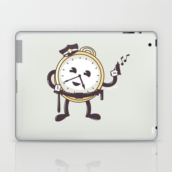 TimeCop Laptop & iPad Skin