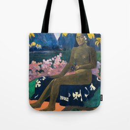 The Seed of the Areoi by Paul Gauguin Tote Bag