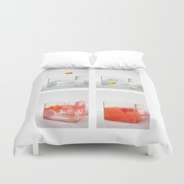 Capturing a motion sequence Duvet Cover
