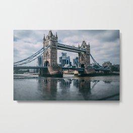 London Bridge Tower (Color) Metal Print