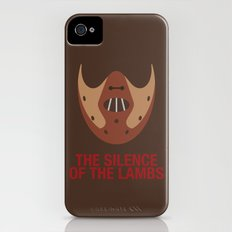 THE SILENCE OF THE LAMBS iPhone (4, 4s) Slim Case