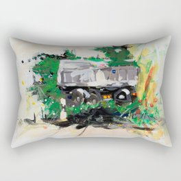 Accident two Rectangular Pillow