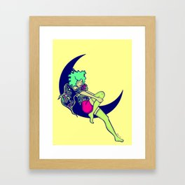 The Moon & I  Framed Art Print