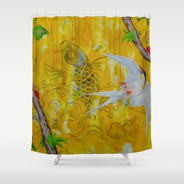 Lucky Terns Shower Curtain