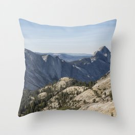 The Other Side of Half Dome Throw Pillow