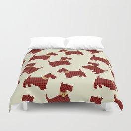 Scottish Terrier Duvet Cover